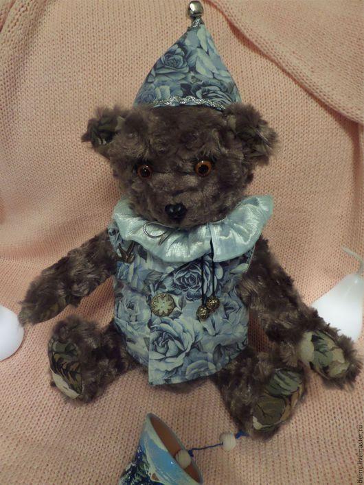 Мишки Тедди ручной работы. Ярмарка Мастеров - ручная работа. Купить Медведь в колпачке. Handmade. Коричневый, Праздник, новогодние игрушки