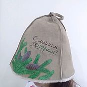Для дома и интерьера handmade. Livemaster - original item NOVELTY bath Hat (painted). Handmade.