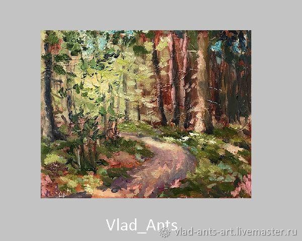 Тропинка в лесу, Картины, Москва,  Фото №1