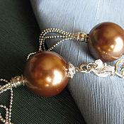 Украшения handmade. Livemaster - original item Earrings balls