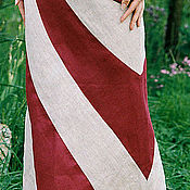 Одежда ручной работы. Ярмарка Мастеров - ручная работа Юбка длинная элегантная Лавина. Handmade.