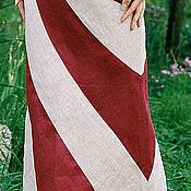 Одежда handmade. Livemaster - original item Skirt long elegant Avalanche. Handmade.