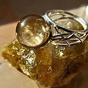 Украшения handmade. Livemaster - original item SMOKY QUARTZ (trade name rauchtopaz). Ring. Handmade.
