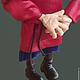 Коллекционные куклы ручной работы. Старец. Александр Иванов (alexander294). Ярмарка Мастеров. Борода, бумага