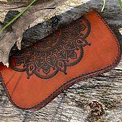 Сумки и аксессуары handmade. Livemaster - original item Leather women`s wallet № 9. Handmade.