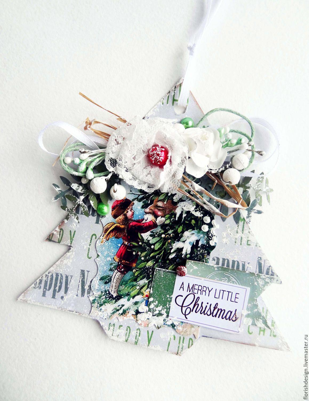 Postcard pendant 'tree', Toys, Minsk,  Фото №1