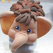 Куклы и игрушки ручной работы. Ярмарка Мастеров - ручная работа Игрушка Мамонтенок. Handmade.