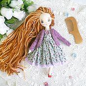 Куклы и игрушки ручной работы. Ярмарка Мастеров - ручная работа Игровая куколка для детей от 5 лет 1000 р за куколку без одежды. Handmade.