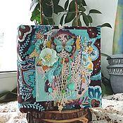 Подарки ручной работы. Ярмарка Мастеров - ручная работа Фотоальбом ручной работы в стиле бохо. Handmade.