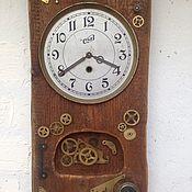 Часы классические ручной работы. Ярмарка Мастеров - ручная работа Часы Стимпанк. Handmade.