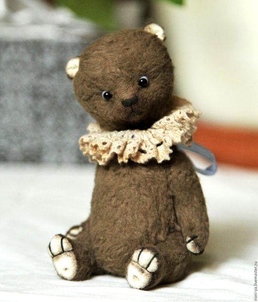 Мишки Тедди ручной работы. Ярмарка Мастеров - ручная работа. Купить Волли. Handmade. Коричневый, вискоза Германия