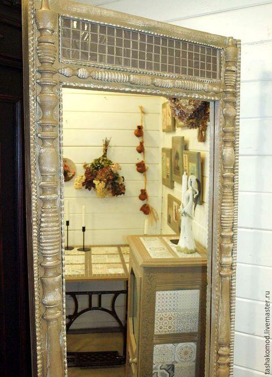 """Зеркала ручной работы. Ярмарка Мастеров - ручная работа. Купить Серия мебели """"Старый Прованс"""" ч.2 (зеркало и панно). Handmade."""