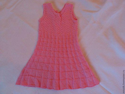 Одежда для девочек, ручной работы. Ярмарка Мастеров - ручная работа. Купить летний срафан. Handmade. Розовый, летний сарафан