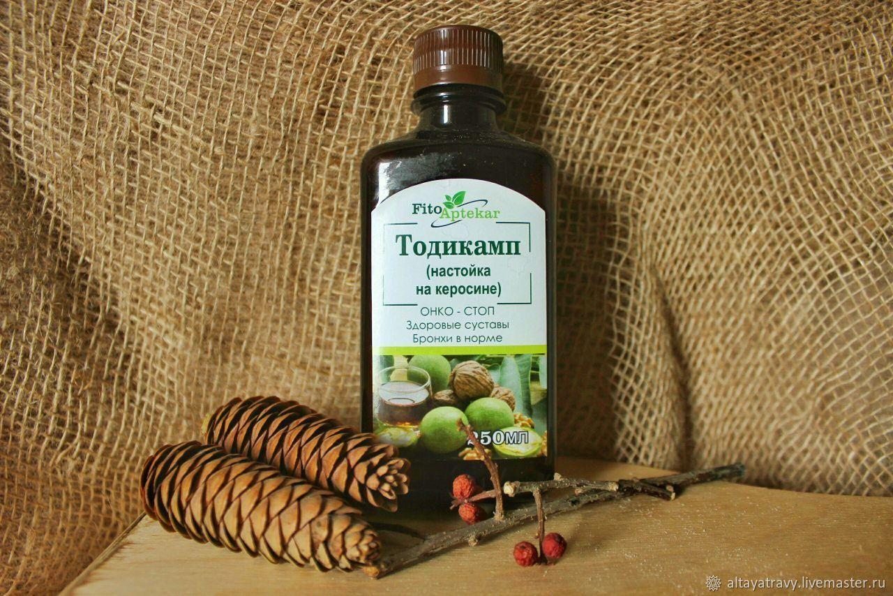Todikamp (tincture of green Manchurian nuts) on kerosene), Grass, Kemerovo,  Фото №1