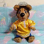 Куклы и игрушки handmade. Livemaster - original item Bear. Theatrical tablet doll.. Handmade.