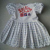 Куклы и игрушки ручной работы. Ярмарка Мастеров - ручная работа Платье для беби Анабель 46 см. Handmade.