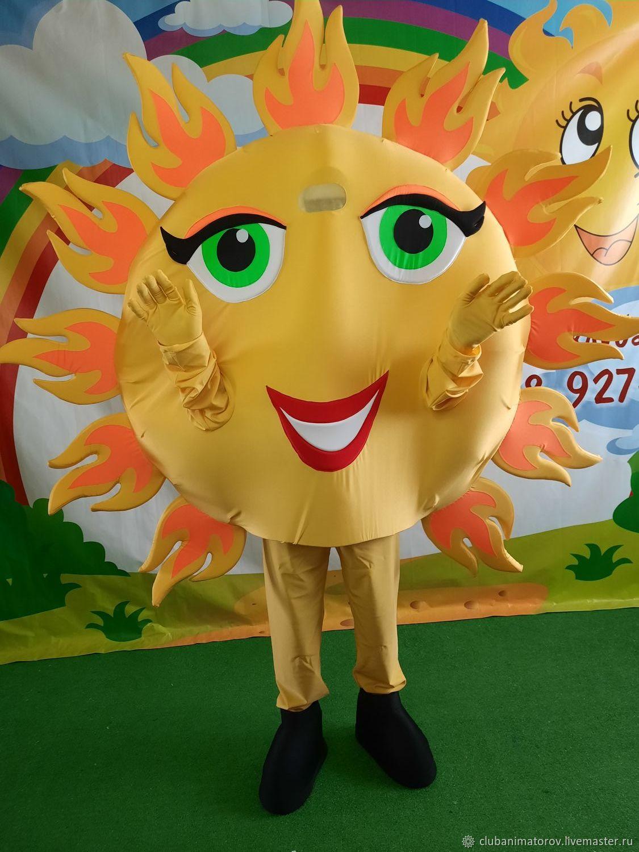 The Sun on Shrovetide Growth doll Animation Club, Carnival costumes, Ufa,  Фото №1