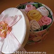 Подарки к праздникам ручной работы. Ярмарка Мастеров - ручная работа Коробочка для новорожденного. Handmade.