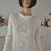Одежда handmade. Livemaster - original item Lace blouse, 44-46p. Handmade.