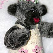 Куклы и игрушки ручной работы. Ярмарка Мастеров - ручная работа Медведь Розарка. Handmade.