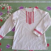 Русский стиль handmade. Livemaster - original item Men`s shirt in Slavic, Russian style. Handmade.
