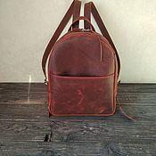 Рюкзаки ручной работы. Ярмарка Мастеров - ручная работа Рюкзак из натуральной кожи. Handmade.
