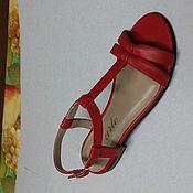Обувь ручной работы. Ярмарка Мастеров - ручная работа Босоножек женский. Handmade.