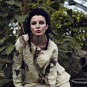 """Одежда ручной работы. Ярмарка Мастеров - ручная работа """"Фрейя"""" - свитшот валяный. Handmade."""