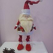 Куклы Тильда ручной работы. Ярмарка Мастеров - ручная работа Дед Мороз. Handmade.
