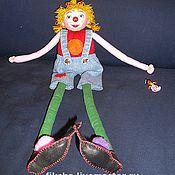 Куклы и игрушки ручной работы. Ярмарка Мастеров - ручная работа КЛОУН ИРИСКА. Handmade.