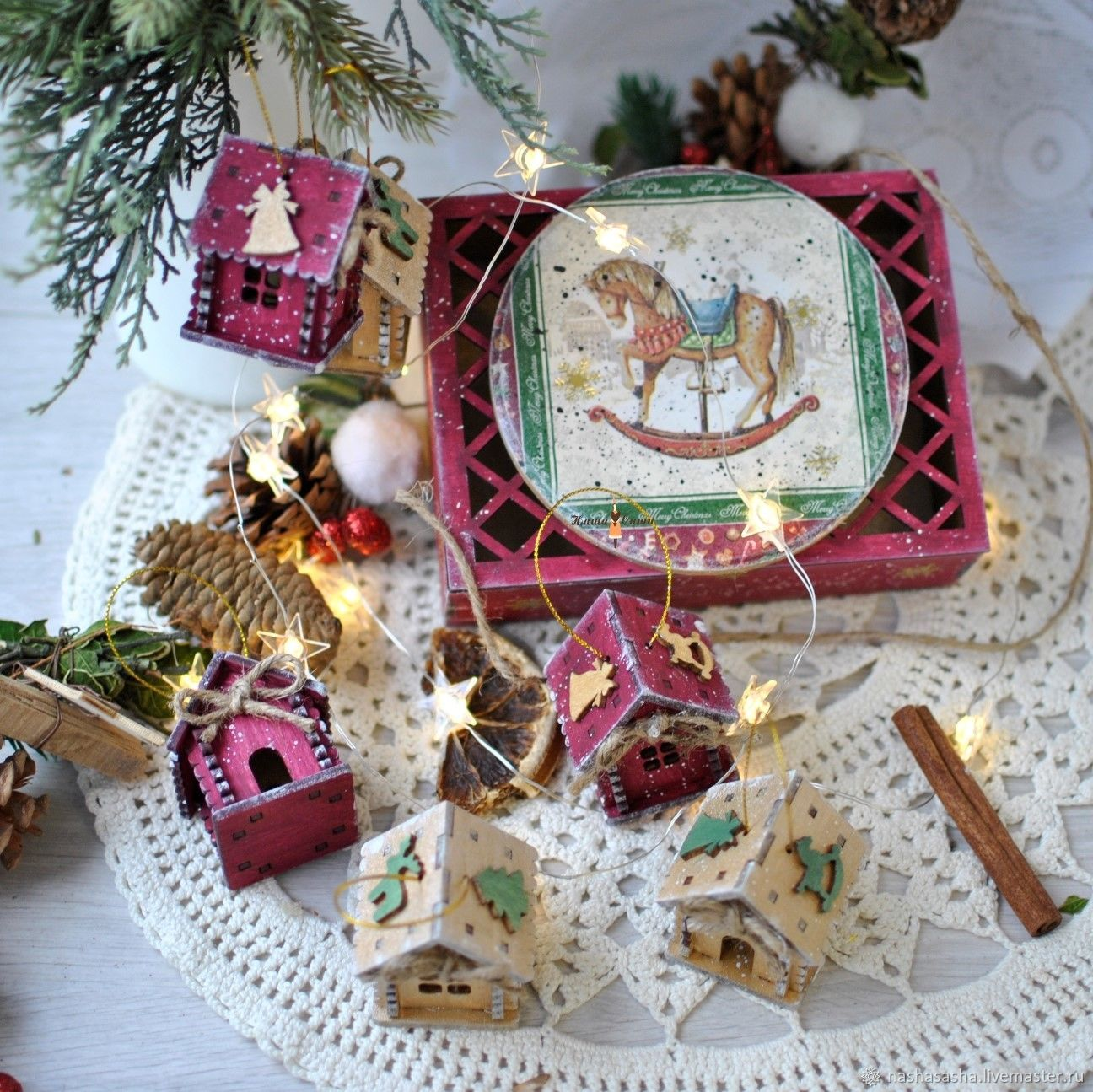 Gift set of houses ' Christmas Day', Christmas gifts, Moscow,  Фото №1