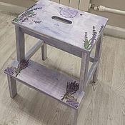 Для дома и интерьера handmade. Livemaster - original item Stool Stepladder
