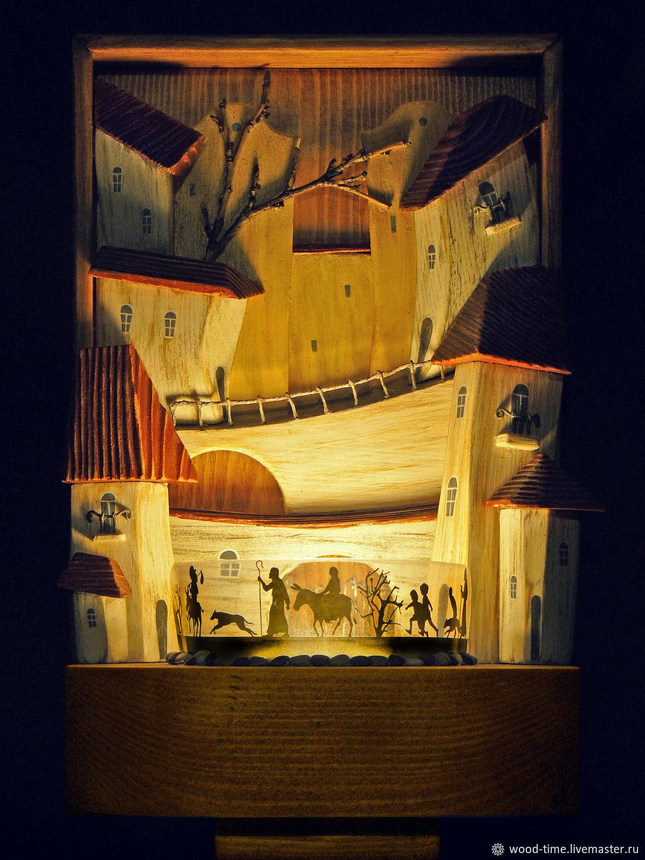 """Светильник-ночник """"Испанские мотивы"""" на стену, Ночники, Санкт-Петербург,  Фото №1"""