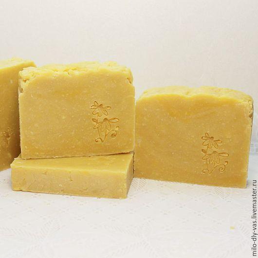 Мыло Шиповник и Облепиха, натуральное мыло с нуля