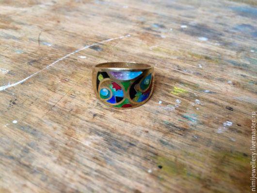 """Кольца ручной работы. Ярмарка Мастеров - ручная работа. Купить Кольцо """"Палитра"""". Handmade. Минанкари, кольцо из серебра, подарок на новый год"""