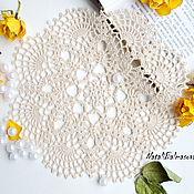 handmade. Livemaster - original item doily crochet. Handmade.