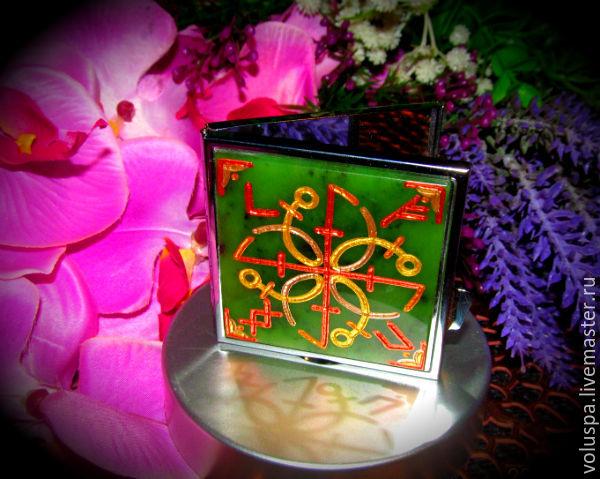 'Venus', the mirror talisman with runes ( jade), Mirror, Sochi,  Фото №1