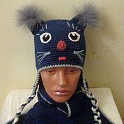"""Аксессуары ручной работы. Ярмарка Мастеров - ручная работа набор """"Кошка"""". Handmade."""