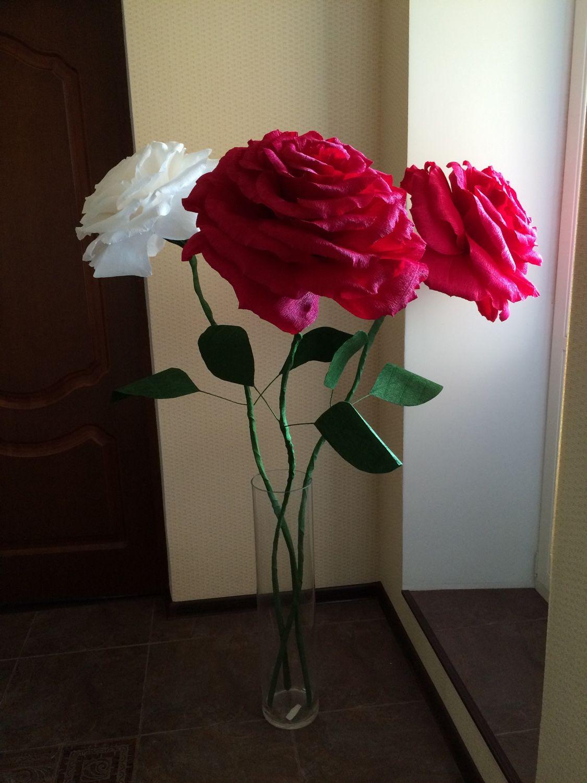 Ростовые цветы из бумаги своими руками фото 781