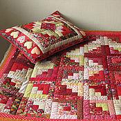 Для дома и интерьера handmade. Livemaster - original item Patchwork bedspread and pillow case set,