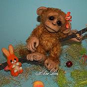 Куклы и игрушки ручной работы. Ярмарка Мастеров - ручная работа Обезьянка Фаня. Handmade.