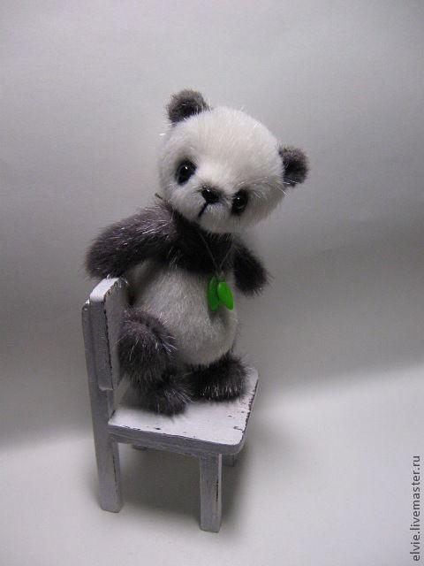 Мишки Тедди ручной работы. Ярмарка Мастеров - ручная работа. Купить Панда. Handmade. Белый, авторские мишки Тедди