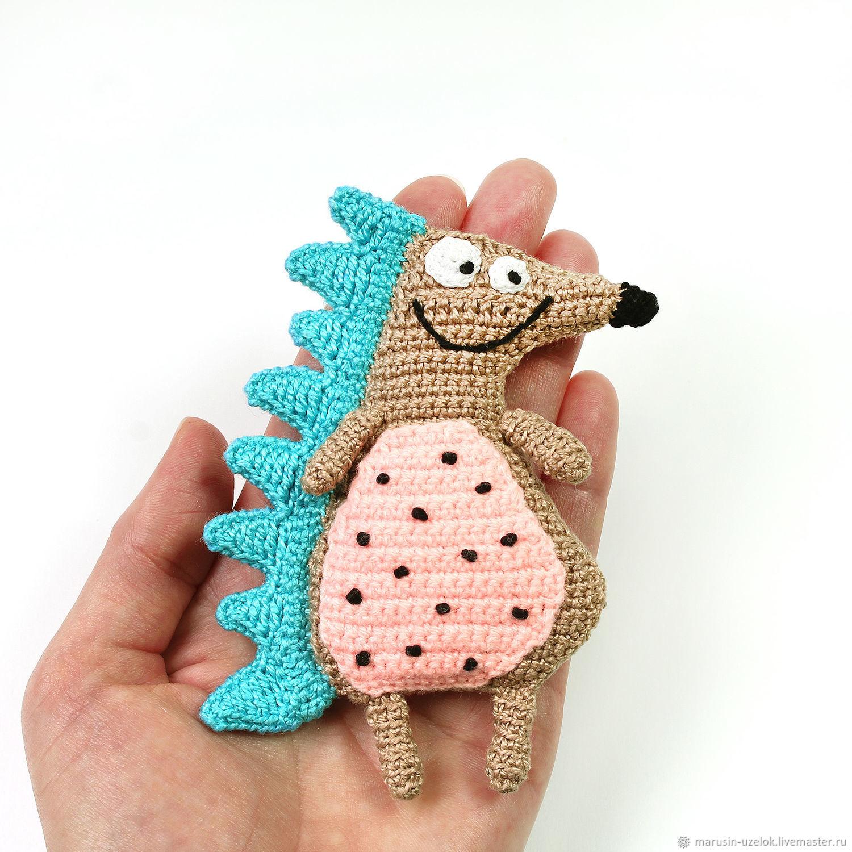 Ежик игрушка подарок мальчику на год маленькие игрушки еж, Мягкие игрушки, Черноголовка,  Фото №1
