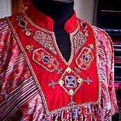 """Одежда ручной работы. Ярмарка Мастеров - ручная работа Туника """"Этника"""" с ручной вышивкой. Handmade."""