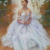 Картины и панно handmade. Livemaster - original item Portrait of a ballerina.. Handmade.