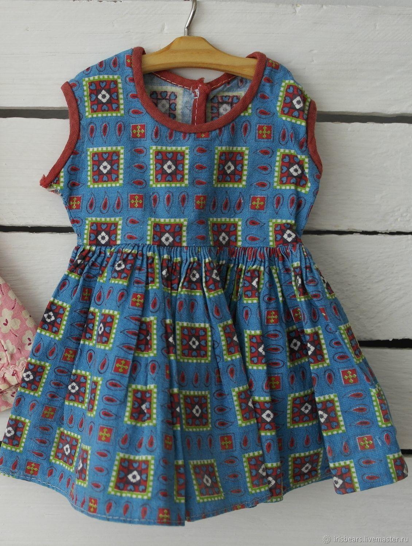 винтажное кукольное платье, Одежда для кукол, Ковров,  Фото №1