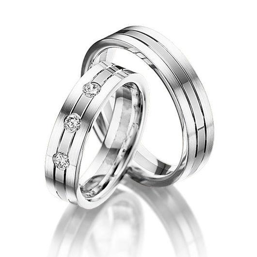 Свадебные украшения ручной работы. Ярмарка Мастеров - ручная работа. Купить Обручальные кольца Fashion 81-043 NEW. Handmade.