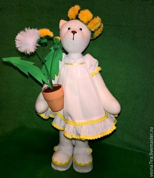 """Куклы и игрушки ручной работы. Ярмарка Мастеров - ручная работа. Купить Набор для шитья куклы :"""" Кошка"""". Handmade. Разноцветный"""