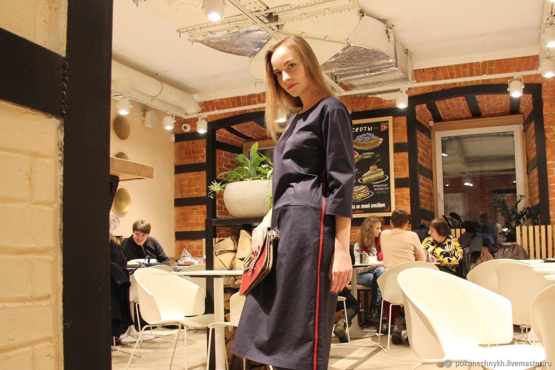 Платье с лампасами  MINIMAL - Pokonechnykh.business – купить в ... 3e849ac52aa28