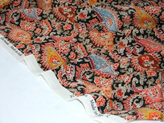 Шитье ручной работы. Ярмарка Мастеров - ручная работа. Купить ETRO шерсть плательная, Италия. Handmade. Разноцветный, итальянская ткань
